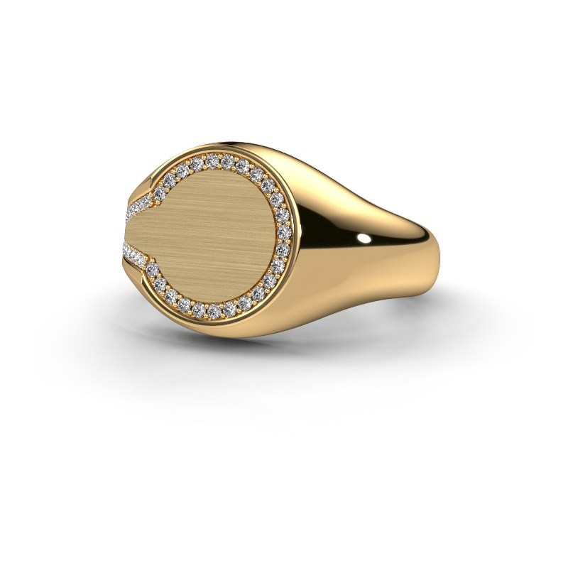 5bede60db324ef Design gold Gijs men's ring with diamond|Design yourself