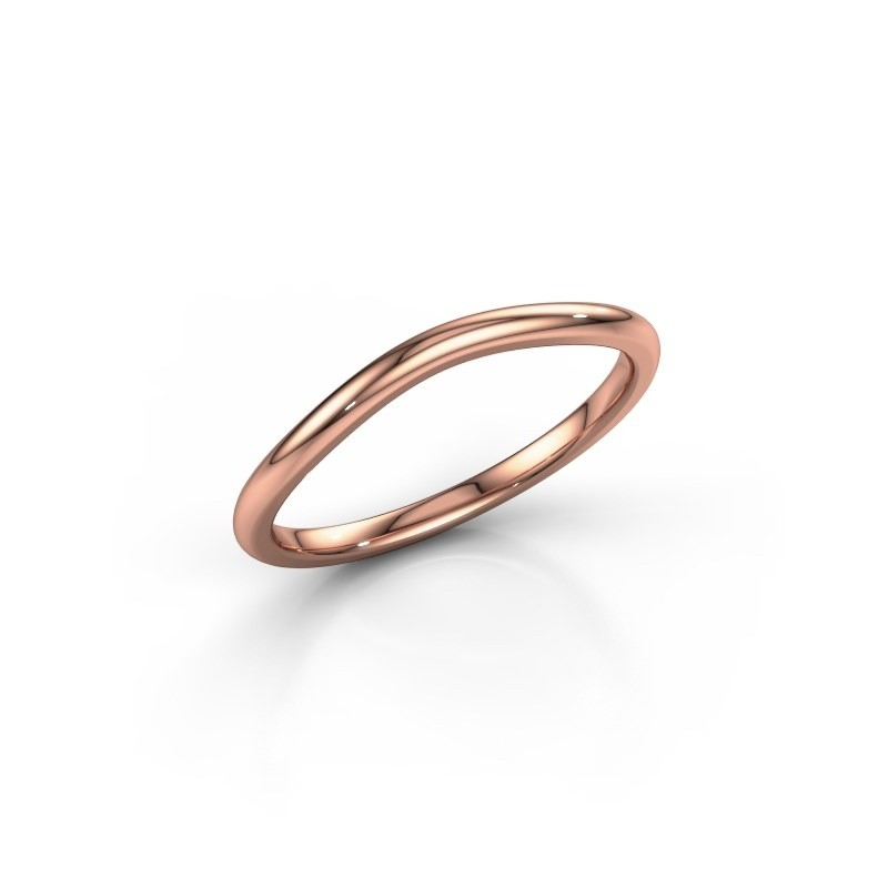 Stackable ring SR30A4 375 rose gold