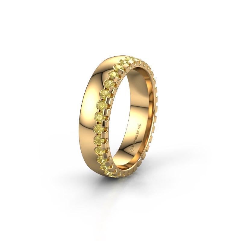 Ehering WH6122L25B 585 Gold Gelb Saphir ±5x2 mm