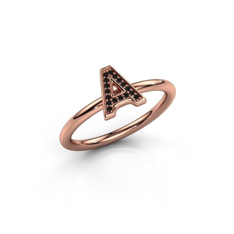 Ring Initial ring 070 375 rosé goud