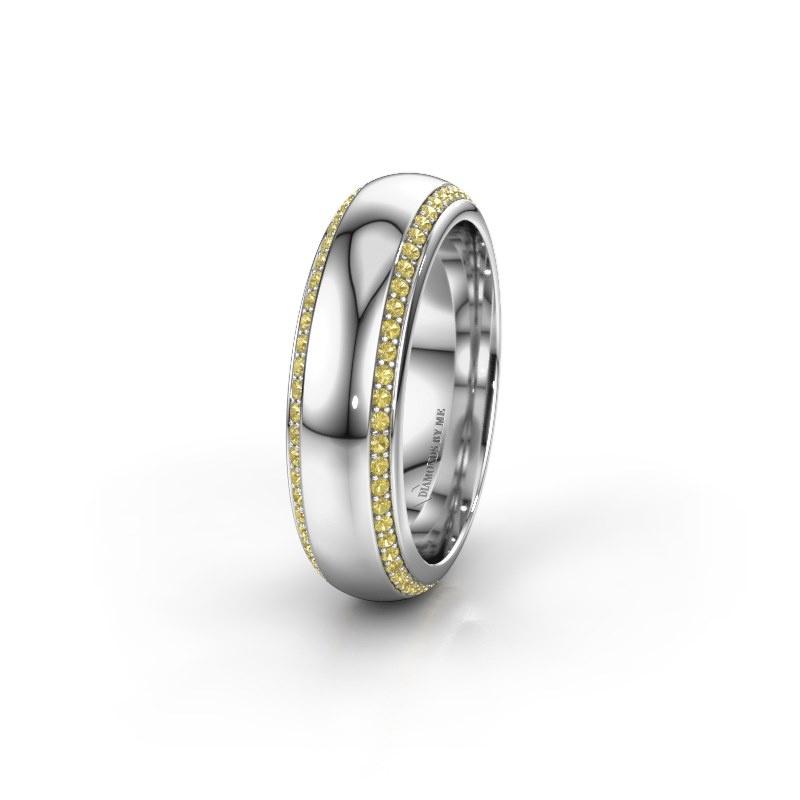 Ehering WH6132L36C 925 Silber Gelb Saphir ±6x2.2 mm