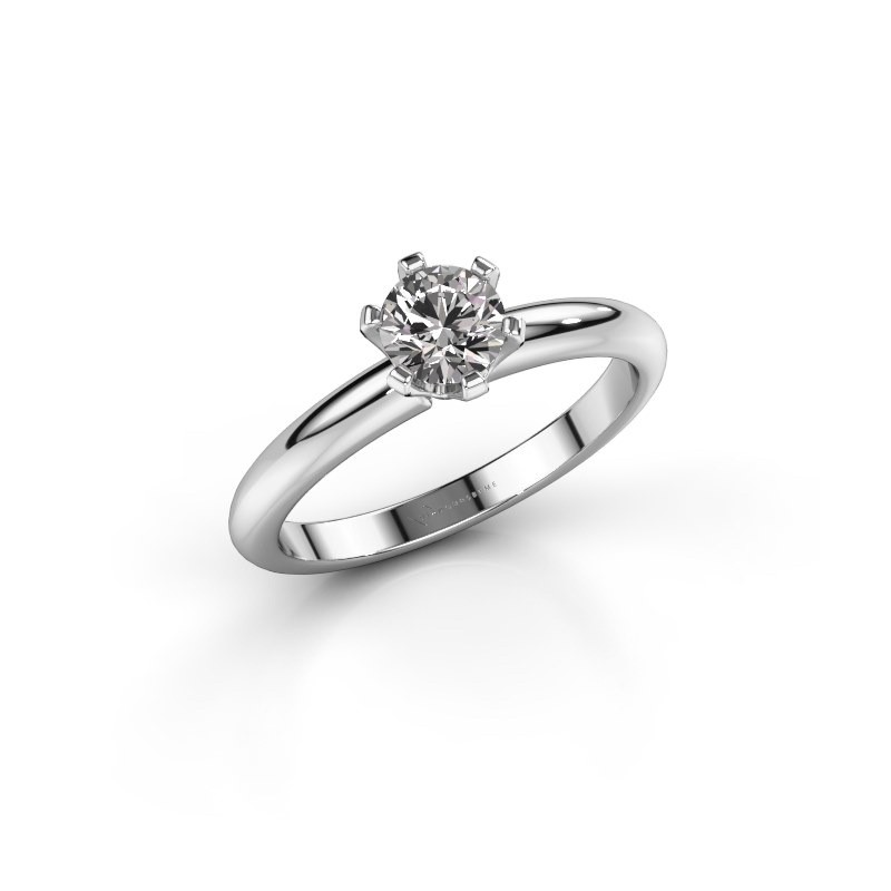 Verlovingsring Tiffy 1 585 witgoud diamant 0.50 crt