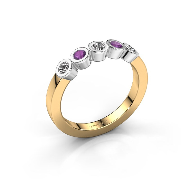 Ring Nova 585 gold diamond 0.30 crt