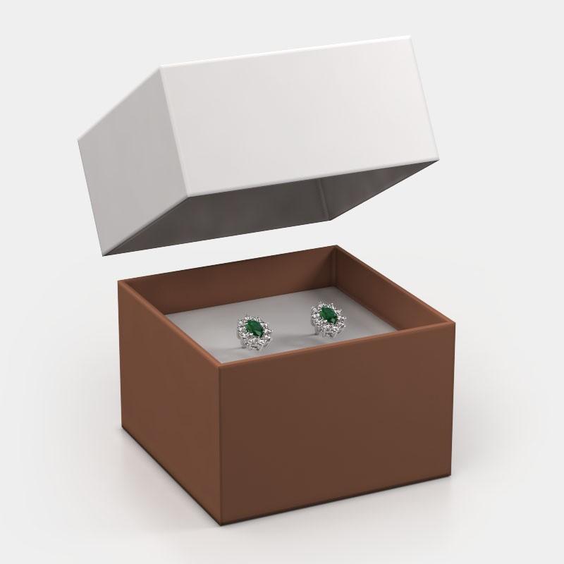 Giftbox earrings 1