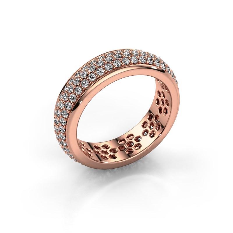 Ring Tara 585 rose gold diamond 1.32 crt