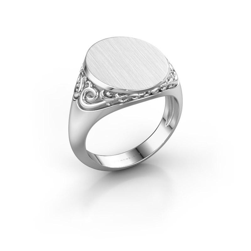 Heren ring Jelle 4 585 witgoud