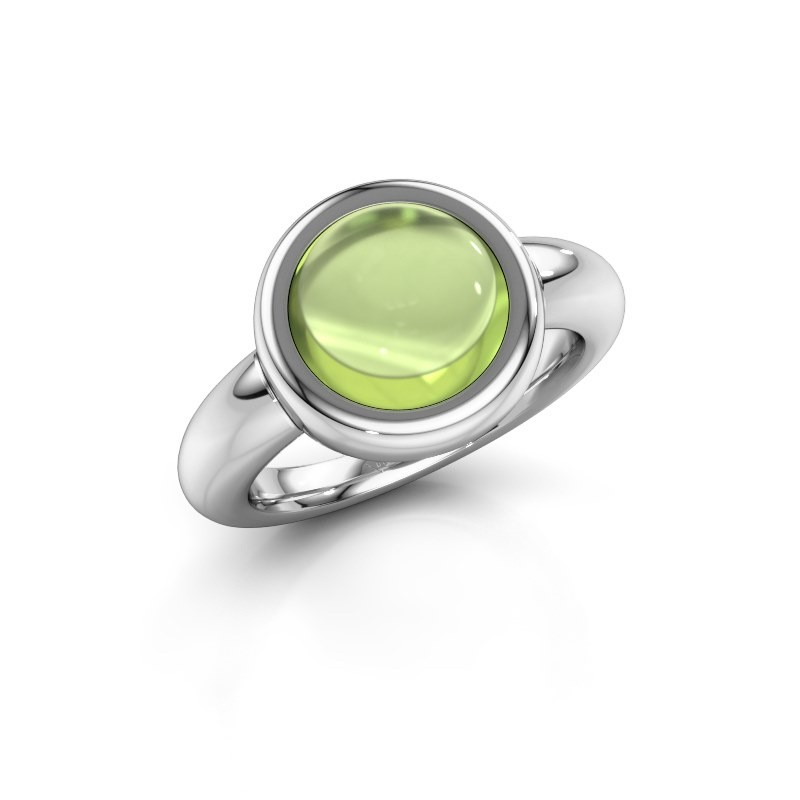 Ring Jenae 950 platinum peridot 10 mm