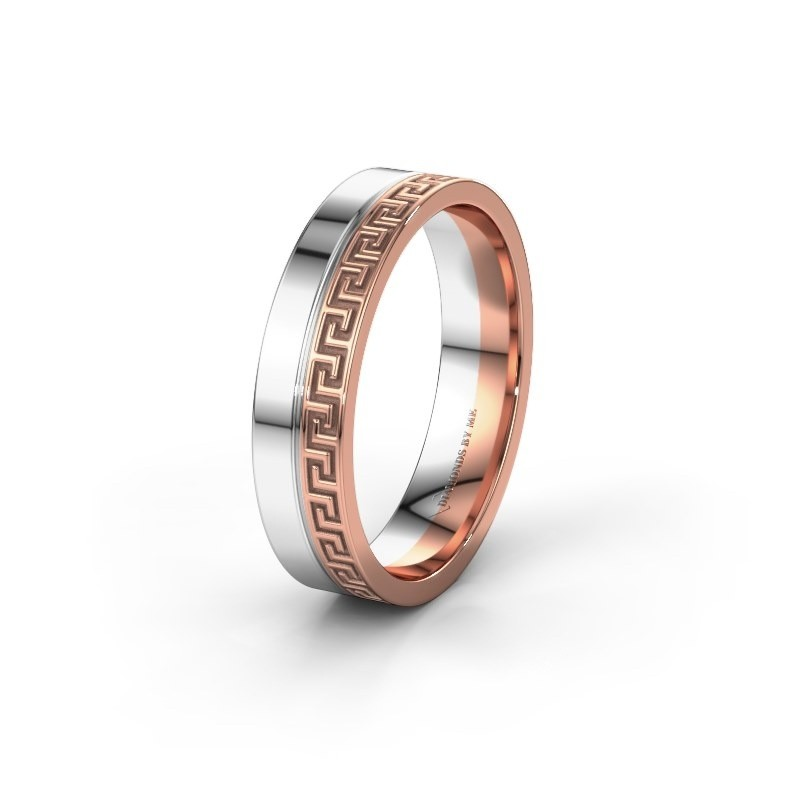 Wedding ring WH0252M24X 585 rose gold ±0.20x0.06 in