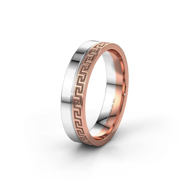 Trouwring WH0252M24X 585 rosé goud ±5x1.5 mm