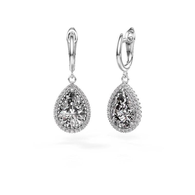 Ohrhänger Hana 1 950 Platin Diamant 6.42 crt