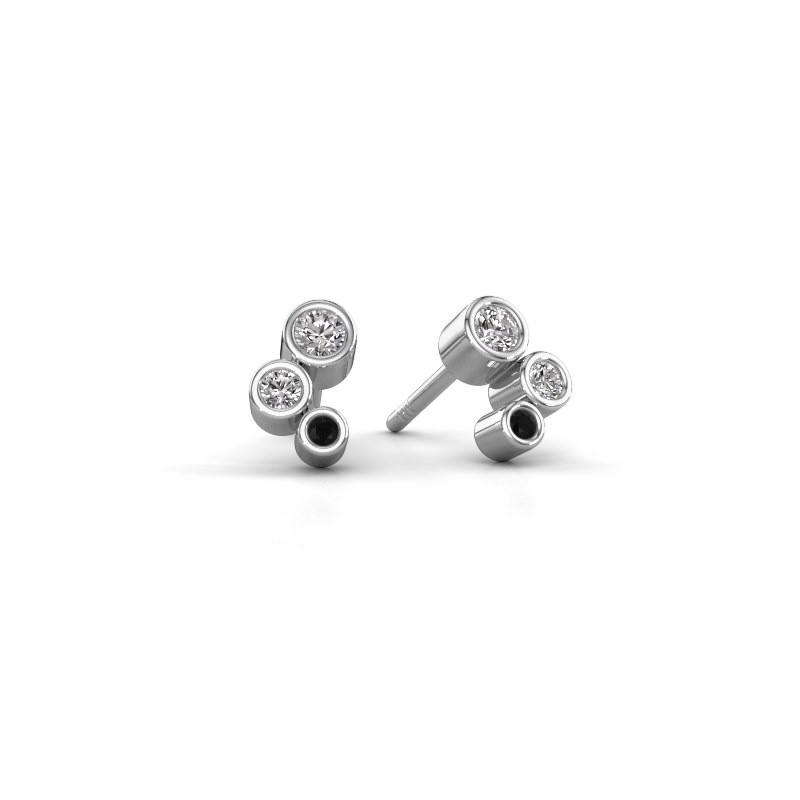 Oorstekers Marlys 925 zilver lab-grown diamant 0.21 crt