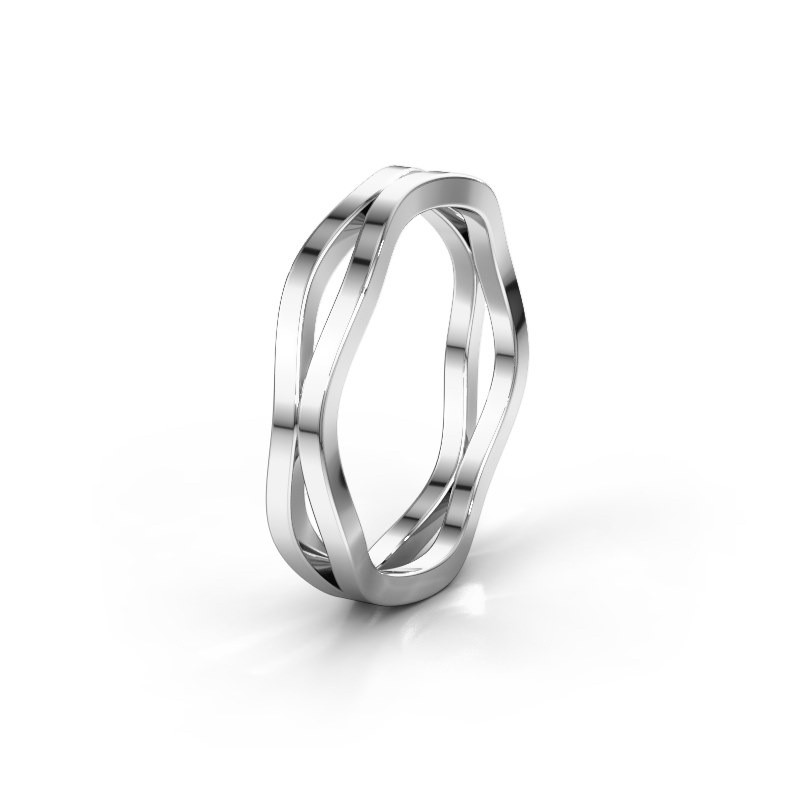 Wedding ring WH2122M 950 platinum ±5x1.7 mm