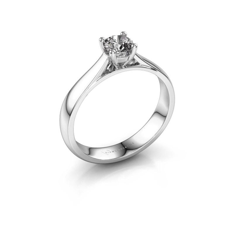 Verlobungsring Sam 925 Silber Diamant 0.40 crt