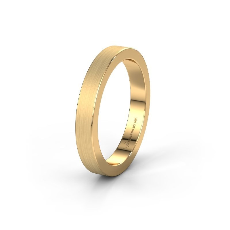 Wedding ring WH2140M15B 375 gold ±4x2 mm