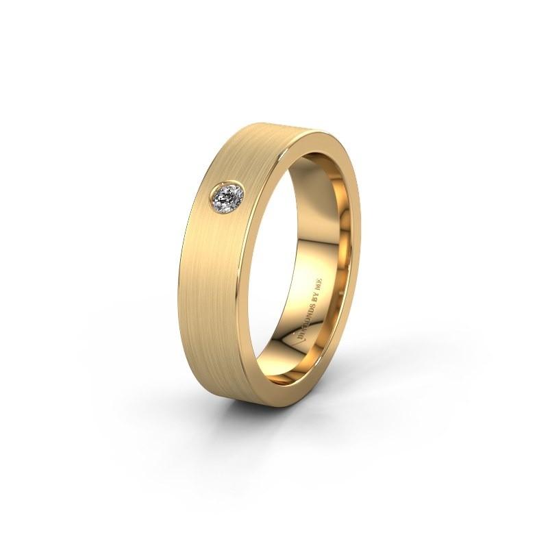 Alliance WH0101L15BM 585 or jaune diamant synthétique ±5x1.5 mm