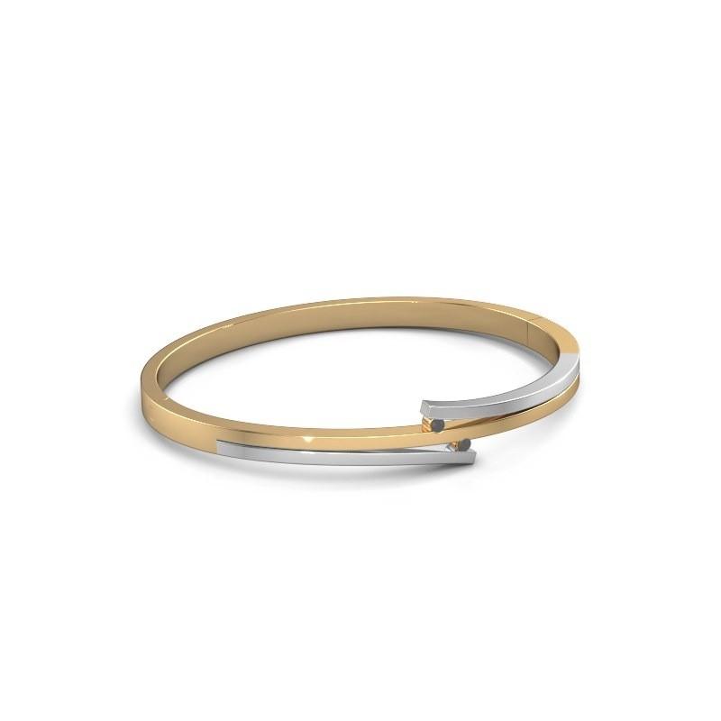 Armband Roxane 585 goud zwarte diamant 0.072 crt