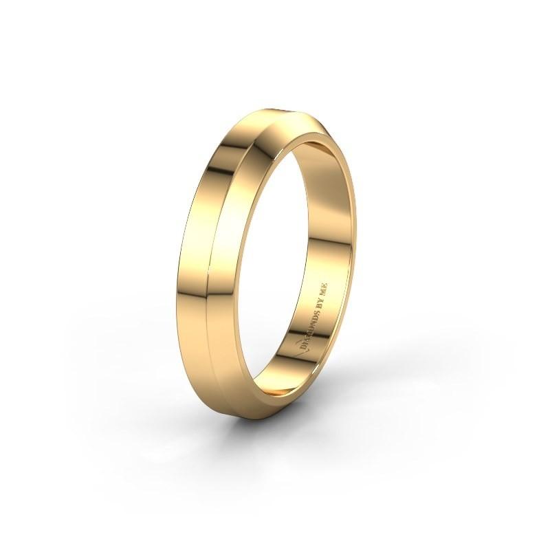 Trouwring WH2106M14C 375 goud ±4x2 mm
