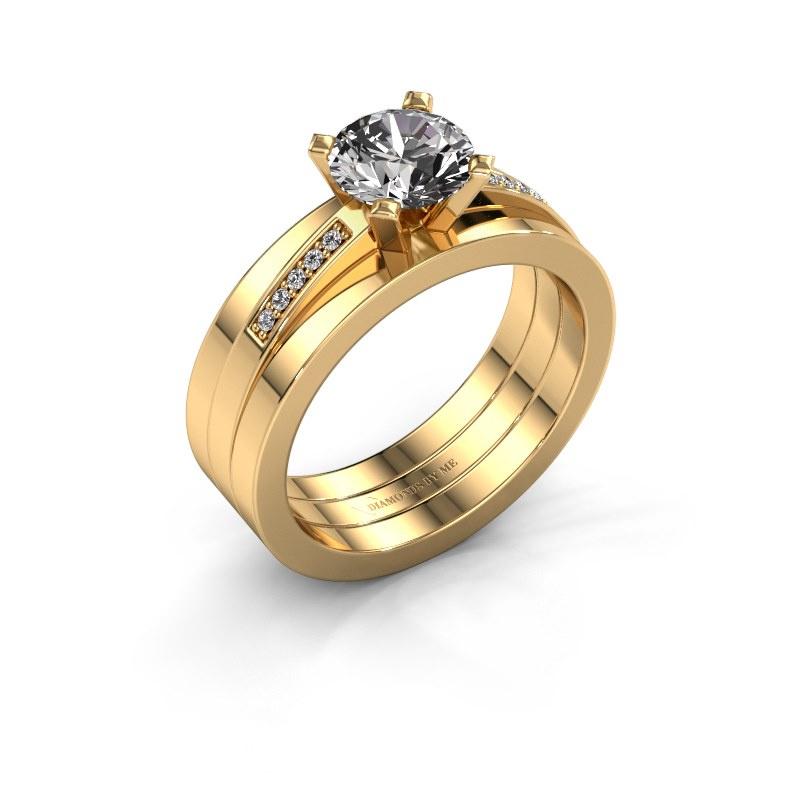 Verlobungsring Celeste 585 Gold Diamant 1.05 crt