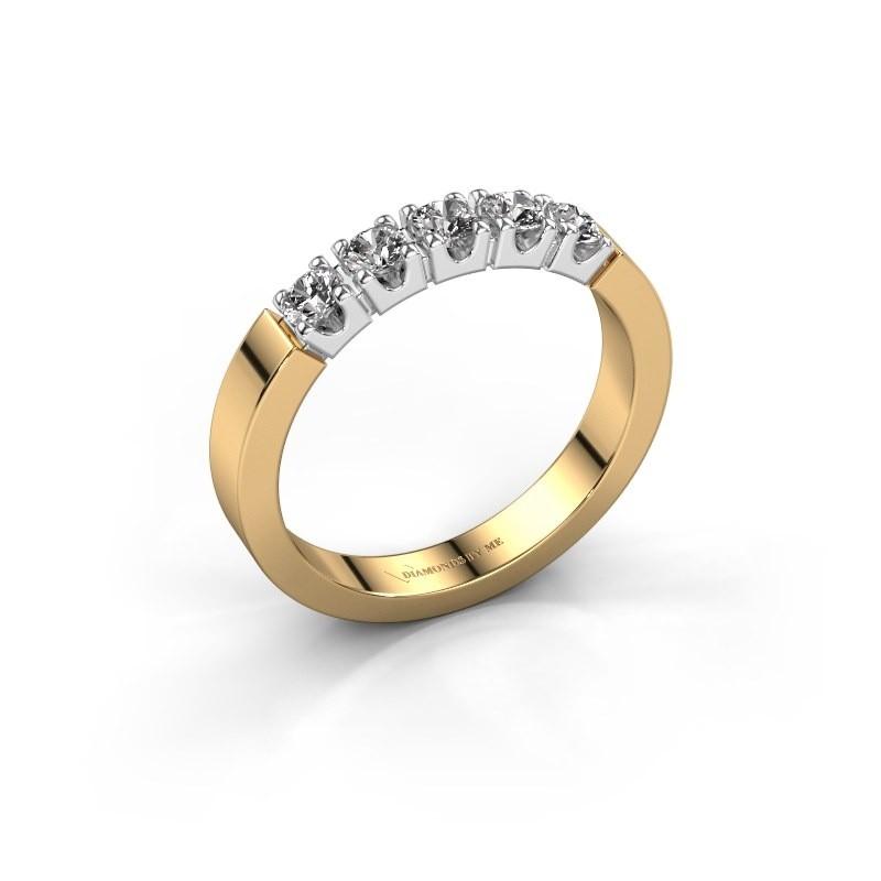 Verlobungsring Dana 5 585 Gold Zirkonia 3 mm
