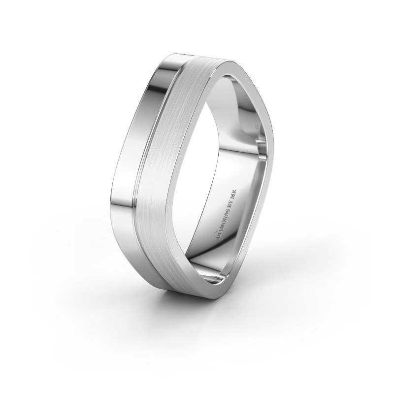 Wedding ring WH6030M16A 950 platinum ±6x1.7 mm