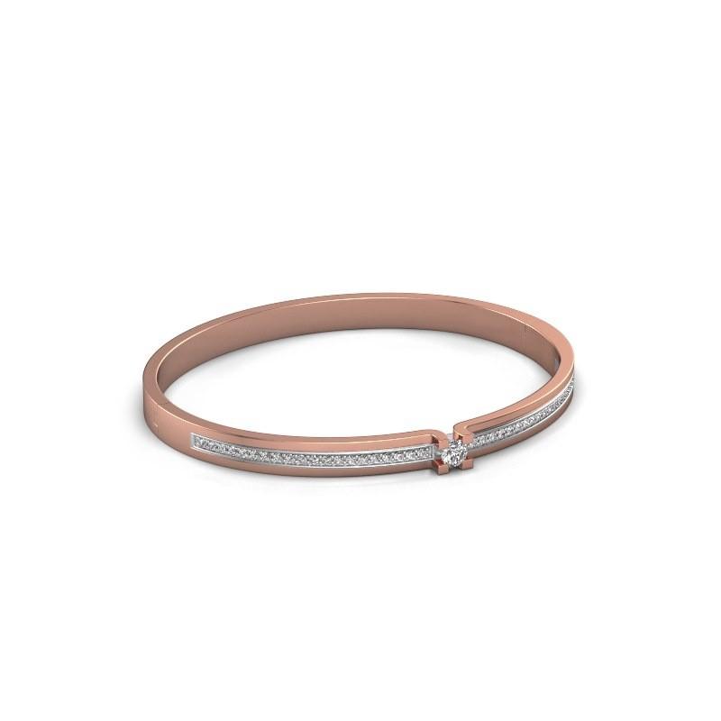 Armband Myrthe 585 rosé goud diamant 0.742 crt
