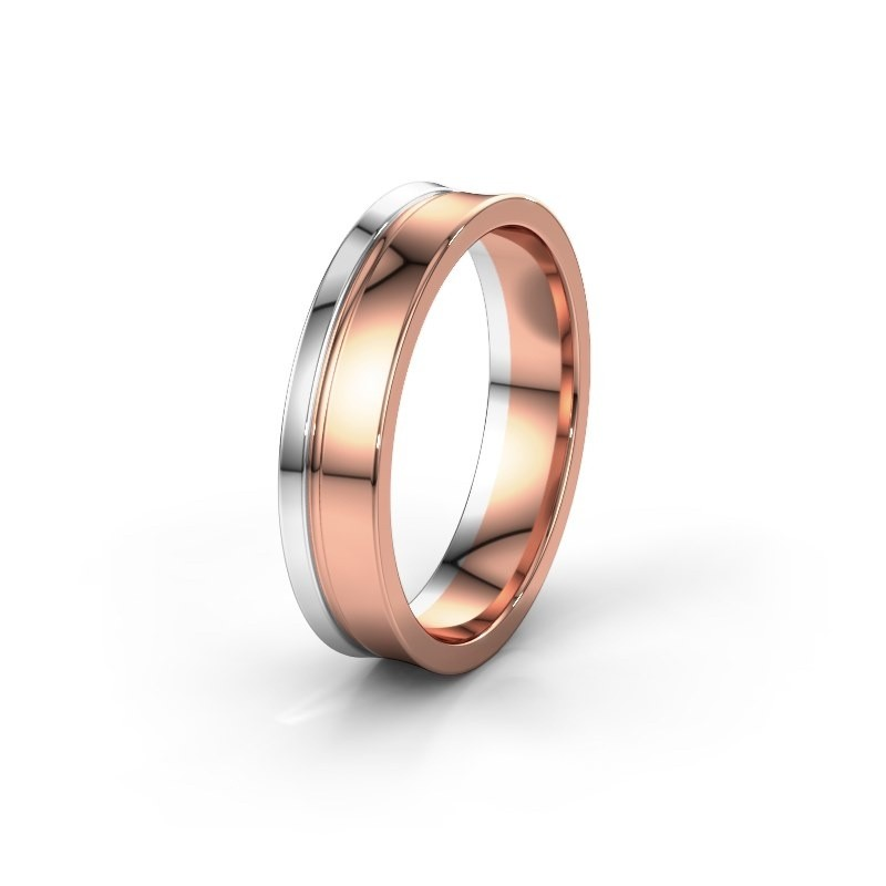 Weddings ring WH6090M55A 585 rose gold ±0.20x0.07 in