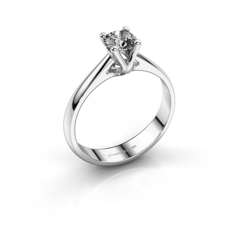 Verlobungsring Janna 1 585 Weißgold Diamant 0.50 crt