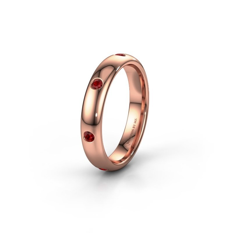 Alliance WH0105L34BP 585 or rose rubis ±4x2 mm