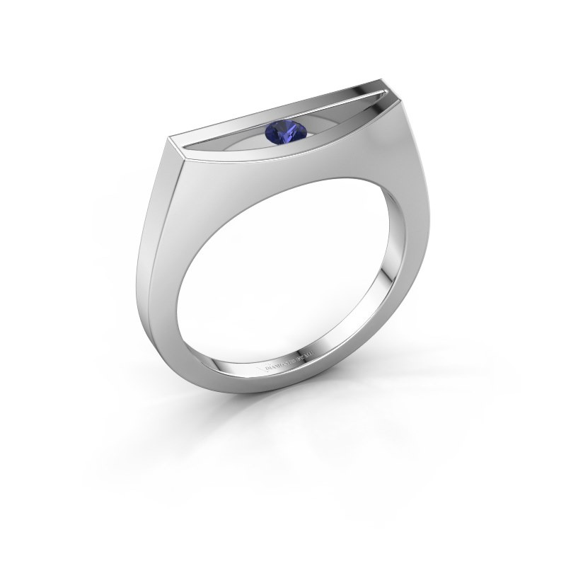 Ring Milou 585 white gold sapphire 3 mm