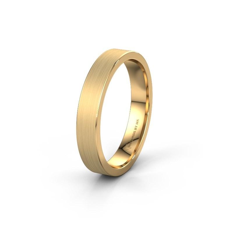 Trouwring WH0100M14AM 585 goud ±4x1.7 mm