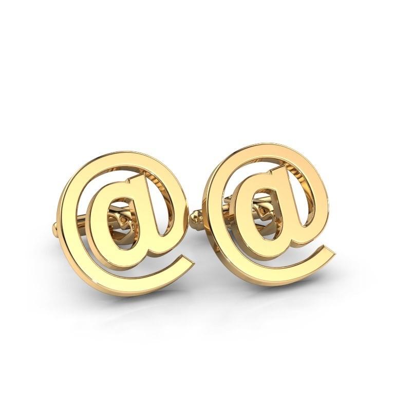 Manchetknopen Jarn 585 goud