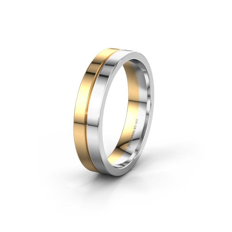 Wedding ring WH0200M15AP 585 gold ±0.20x0.07 in