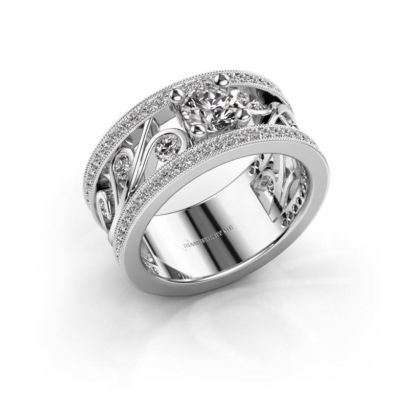Ring Sanne 925 zilver zirkonia 5 mm