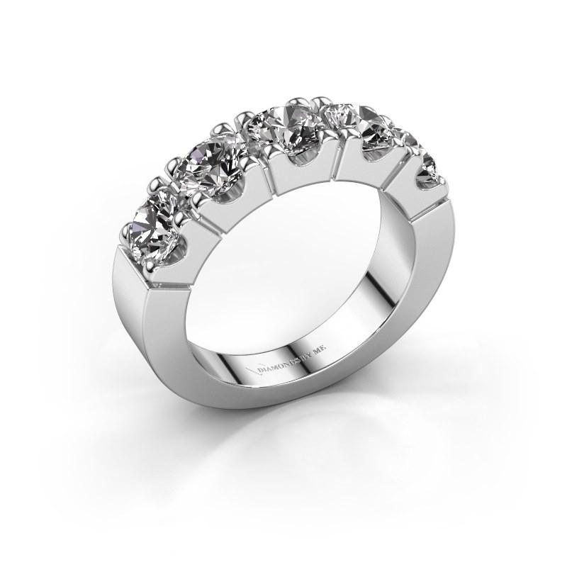 Verlobungsring Dana 5 585 Weißgold Diamant 2.50 crt
