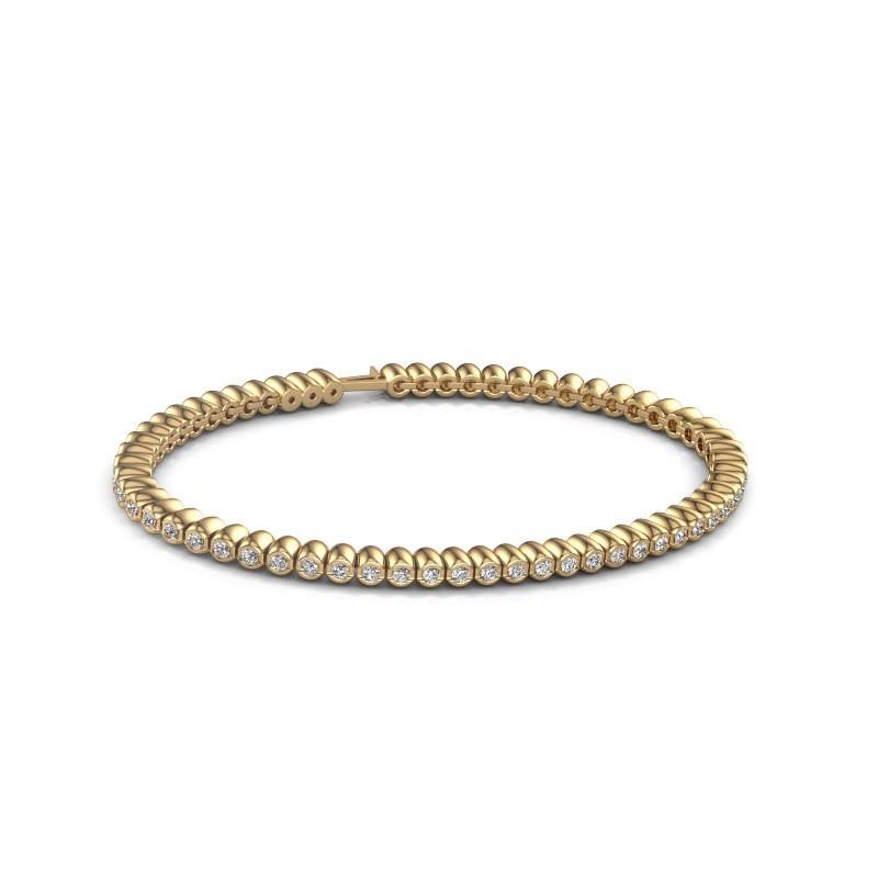 Tennisarmband Trix 375 goud diamant 1.800 crt
