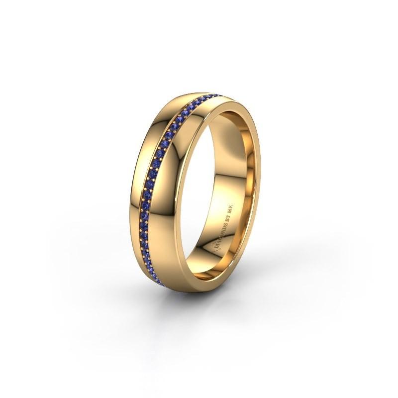 Ehering WH0109L25A 585 Gold Saphir ±5x1.7 mm