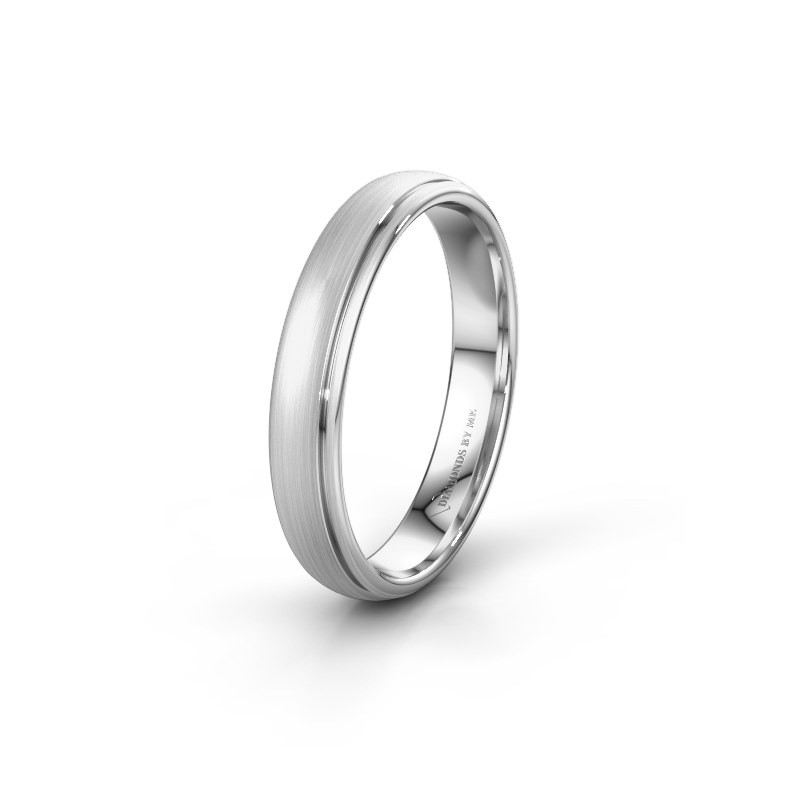 Wedding ring WH0500M34AM 925 silver ±4x1.7 mm