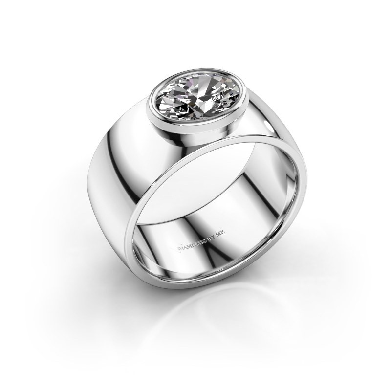 Ring Wilma 1 950 platina lab-grown diamant 1.15 crt