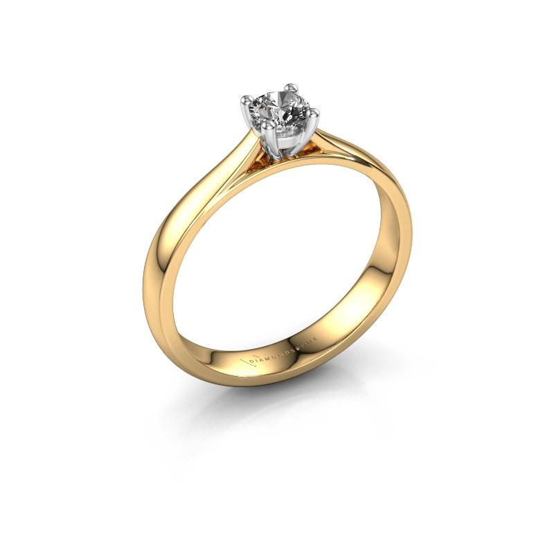 Verlobungsring Sam 585 Gold Diamant 0.25 crt