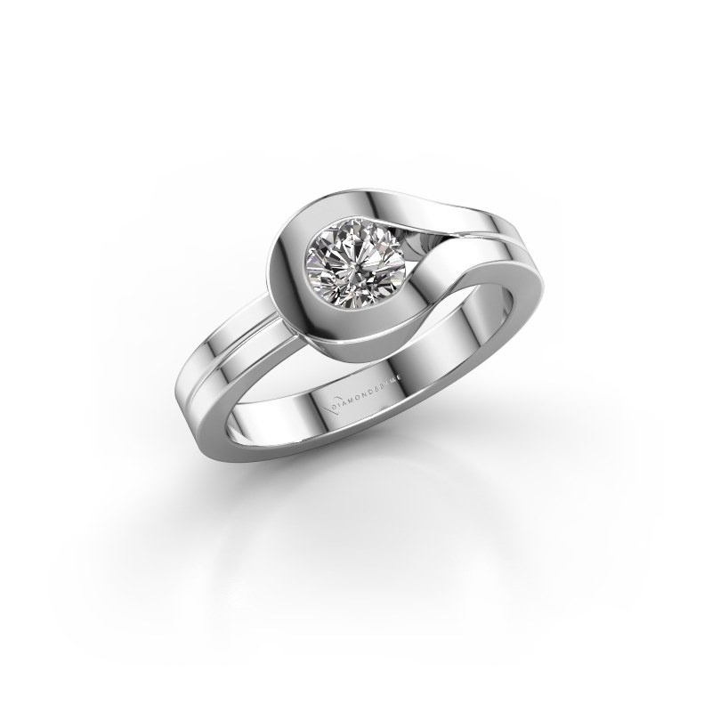 Ring Kiki 925 silver diamond 0.50 crt