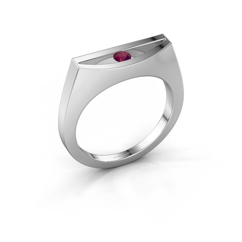 Ring Milou 950 Platin Rhodolit 3 mm