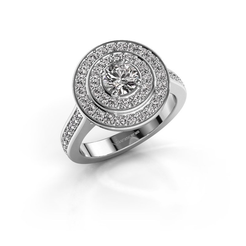 Ring Alecia 2 585 witgoud diamant 1.338 crt