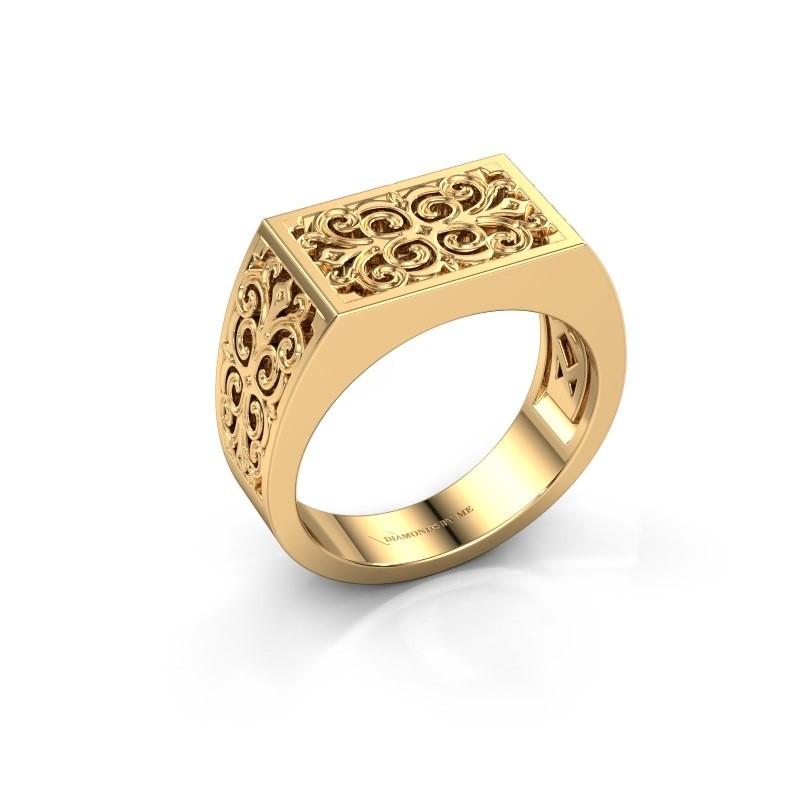 Heren ring Wouter 585 goud
