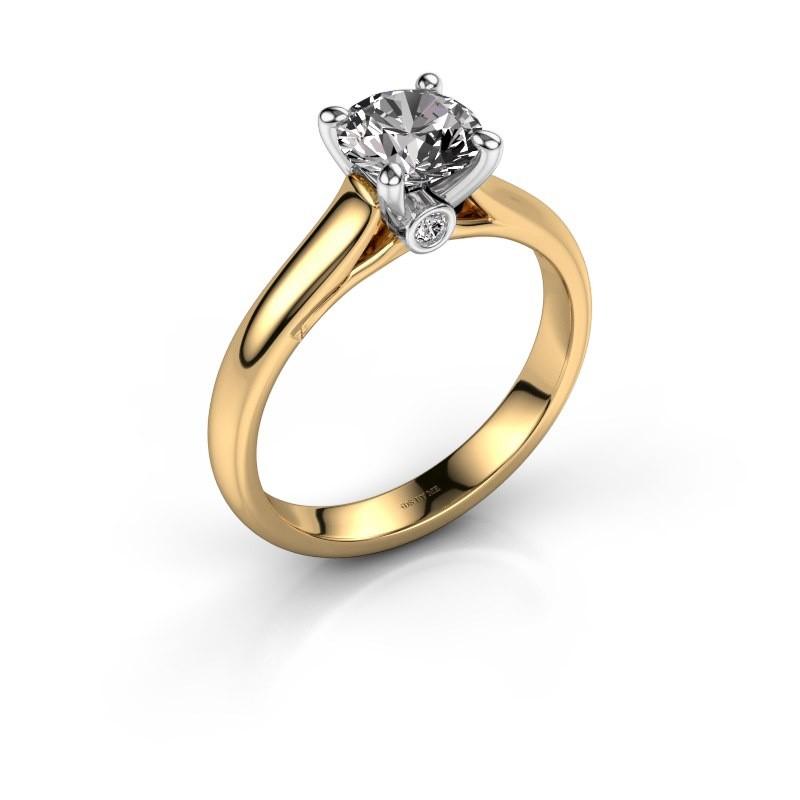 Verlovingsring Valorie 1 585 goud diamant 1.00 crt