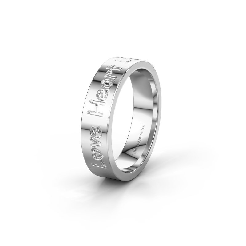 Wedding ring WH2130L15A 950 platinum ±5x1.7 mm
