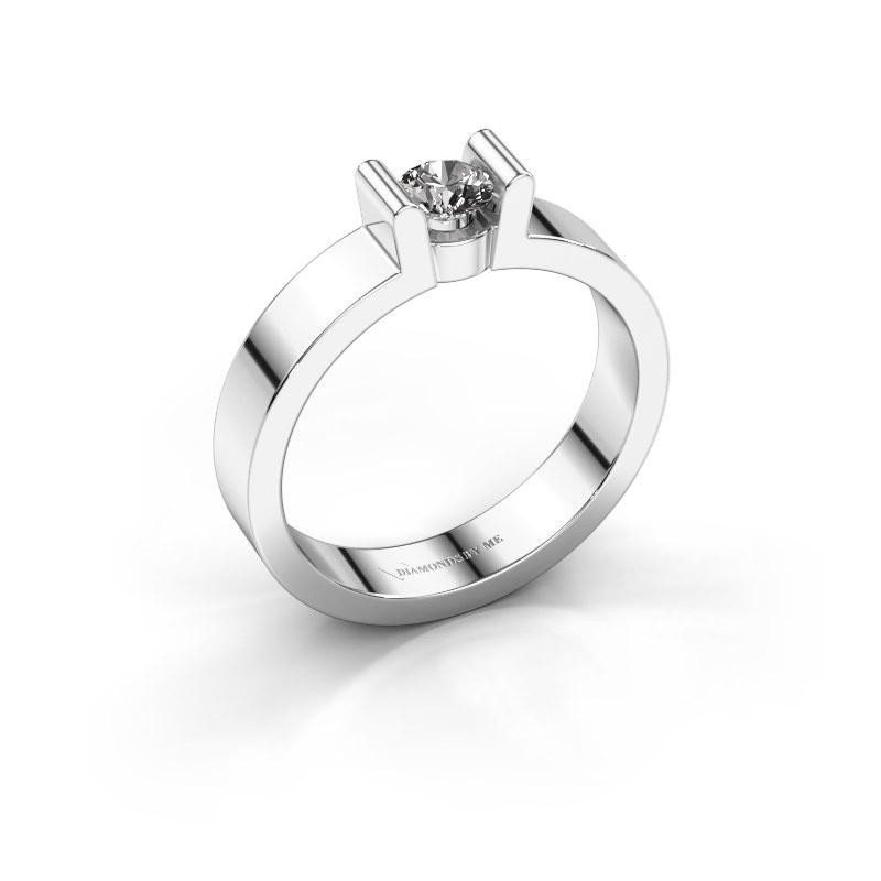 Verlovingsring Sofie 1 950 platina diamant 0.25 crt