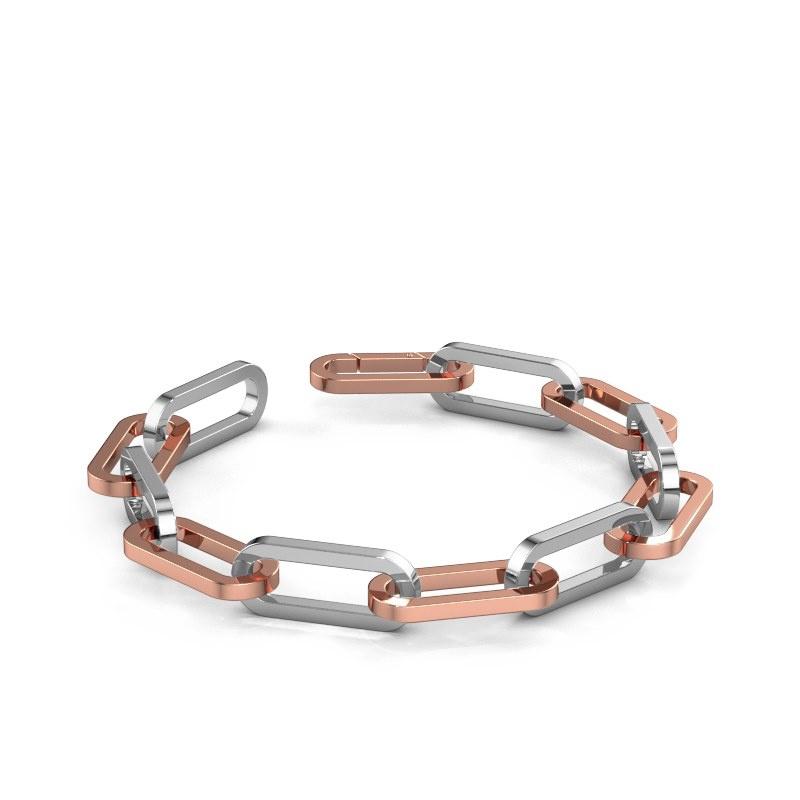 Armband CFE sqr 10.0 585 Roségold ±10 mm