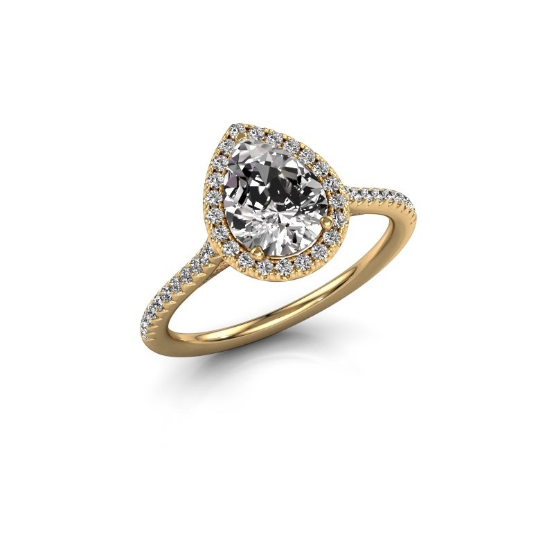 Engagement ring Seline per 2 375 gold lab-grown diamond 1.245 crt