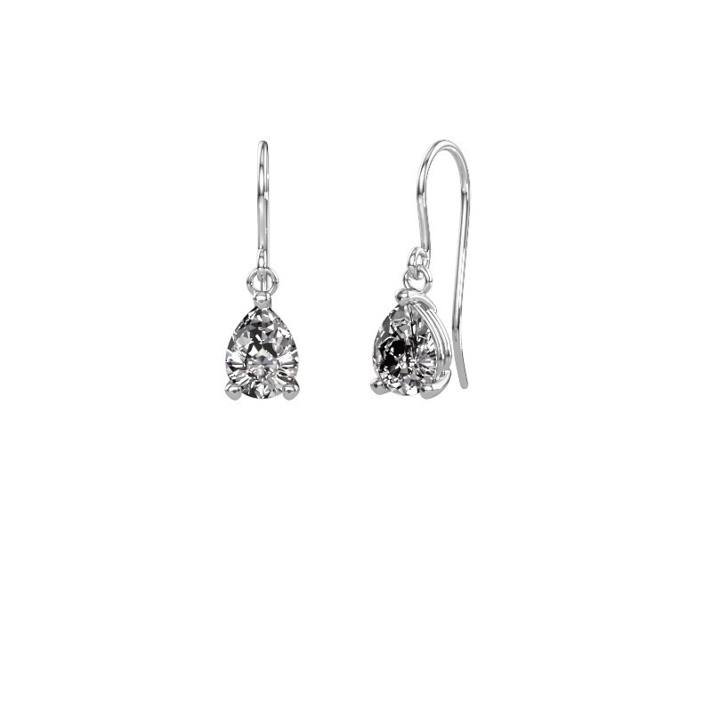 Ohrhänger Laurie 1 950 Platin Lab-grown Diamant 0.95 crt