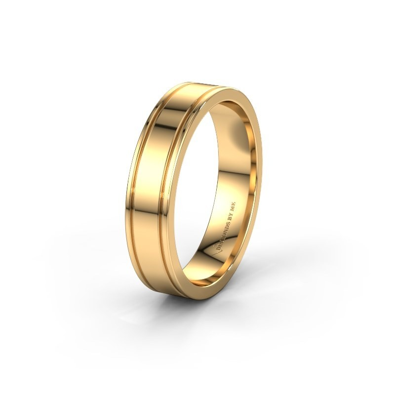 Wedding ring WH0600M15AP 585 gold ±5x1.7 mm
